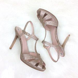 Kate Spade Feodora Glitter Heels Size 9.5